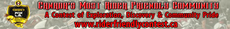 Rider Friendly Contest banner468x60
